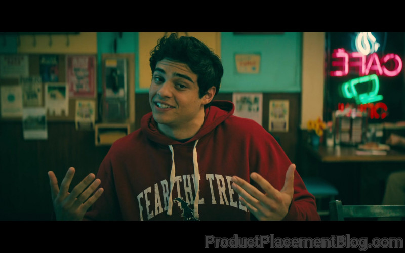 Stanford Fear the Tree Hoodie of Noah Centineo as Peter Kavinsky in To All the Boys Always and Forever (2021)