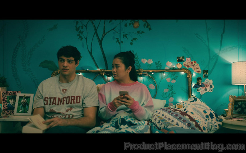 Stanford University T-Shirt of Noah Centineo as Peter Kavinsky in To All the Boys Always and Forever (1)