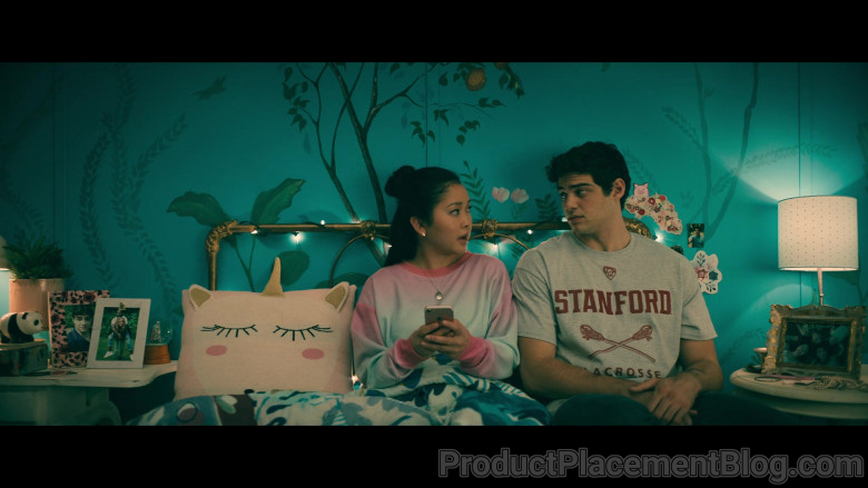 Stanford University T-Shirt of Noah Centineo as Peter Kavinsky in To All the Boys Always and Forever (2)