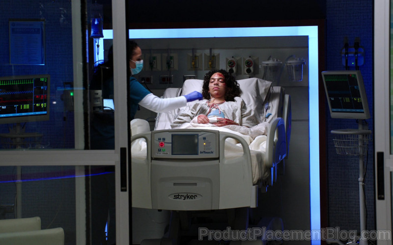 Stryker Medical Bed in Chicago Med S06E06 Don't Want to Face This Now (2021)