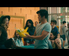 Subway Fast Food Held by Ross Butler as Trevor Pike in To Al...