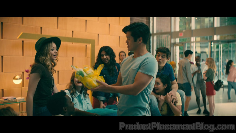 Subway Fast Food Held by Ross Butler as Trevor Pike in To All the Boys Always and Forever (1)