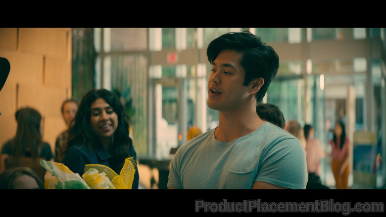 Subway Fast Food Held by Ross Butler as Trevor Pike in To All the Boys Always and Forever (2)