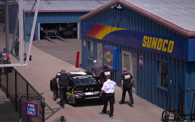 Sunoco, Chevrolet Camaro, Wisconsin Lighting Lab, Inc. (WiLL) Logo in The Crew S01E01
