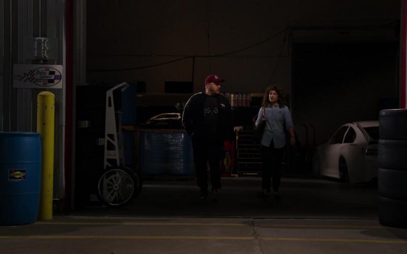 Sunoco Motor Fuel Barrel in The Crew S01E09