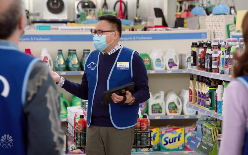 Surf Detergent in Superstore S06E08 Ground Rules (2021)