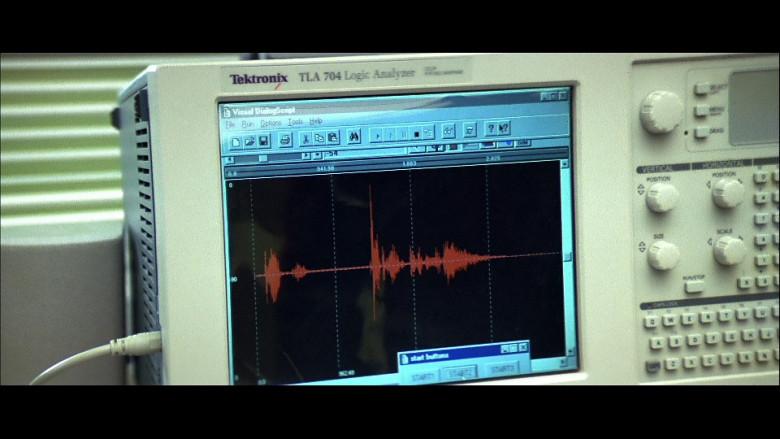 Tektronix TLA 704 in FaceOff (1997)