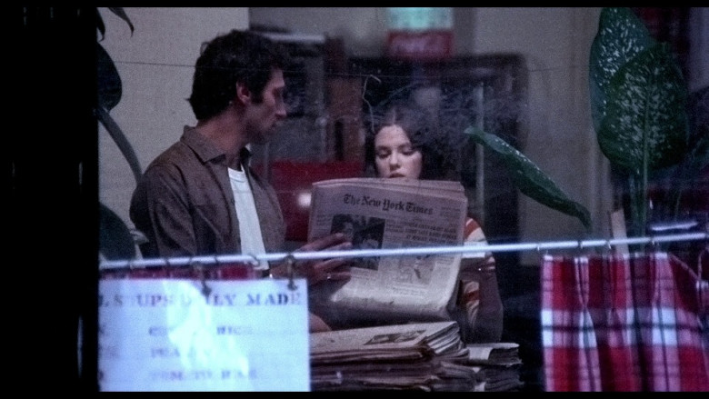 The New York Times newspaper in The French Connection (1971)