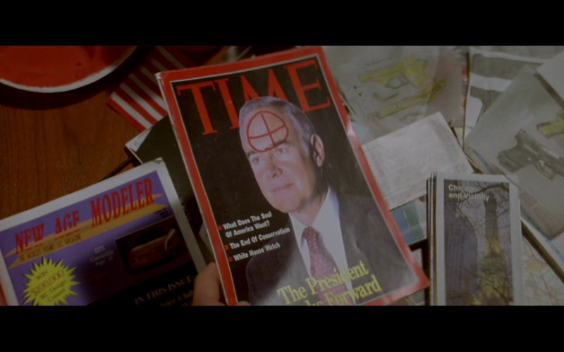 Time Magazine in In the Line of Fire (1993)