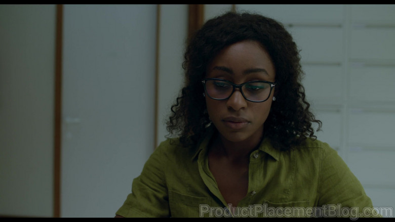 Tom Ford Glasses Worn by Simona Brown as Louise in Behind Her Eyes S01E03 Netflix TV Show (2)