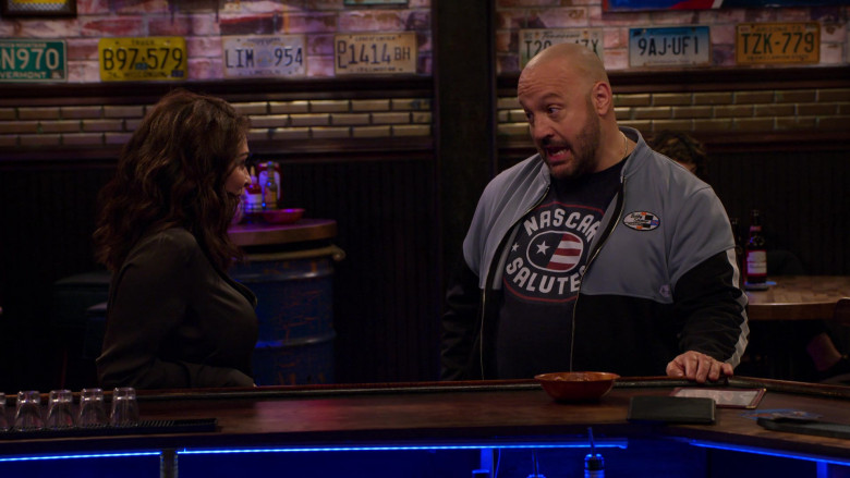 UA Men's Sports Jacket of Kevin James in The Crew S01E06 We're Gonna Be Okay. We're Gonna Be Okay. (2021)