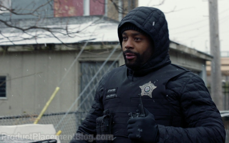 Under Armour Gloves Worn by Actor LaRoyce Hawkins as Kevin Atwater in Chicago P.D. S08E07 (1)