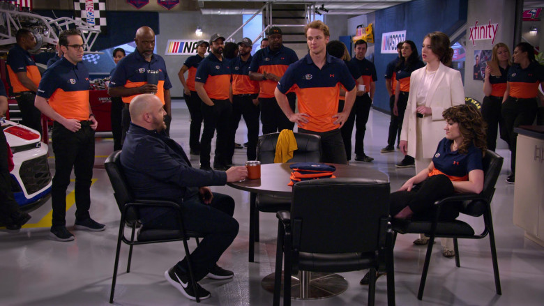 Under Armour Short Sleeved Shirts Worn by Racing Team in The Crew S01E04