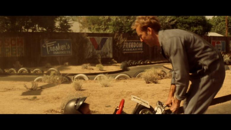 Valvoline & Freedom Firearms in Gone in 60 Seconds (2000)