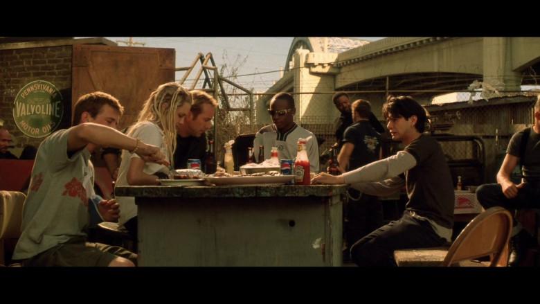 Valvoline, Pepsi, Heinz in Gone in 60 Seconds (2000)