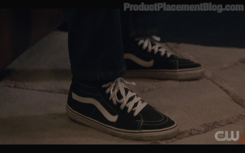 Vans Men's Shoes of Daniel Ezra as Spencer James in All American S03E04 My Mind's Playing Tricks on Me (2021)