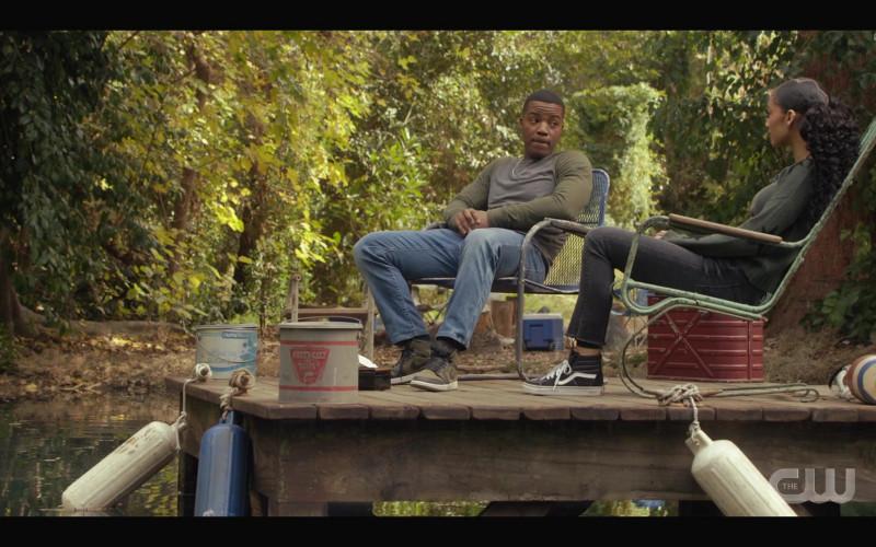 Vans Women's Hi Top Shoes in All American S03E06 Teenage Love (2021)