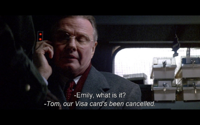 Visa Cards in Enemy of the State (1998)
