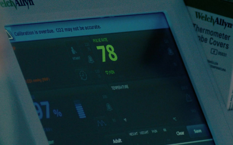 Welch Allyn Medical Device in I Care a Lot (2020)