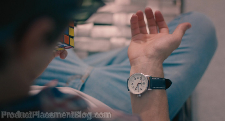 Wenger Men's Watch of Kyle Allen as Mark in The Map of Tiny Perfect Things (1)