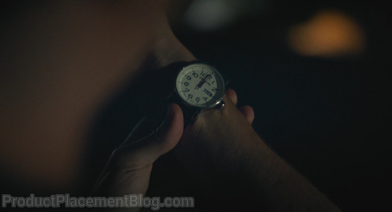 Wenger Men's Watch of Kyle Allen as Mark in The Map of Tiny Perfect Things (2)