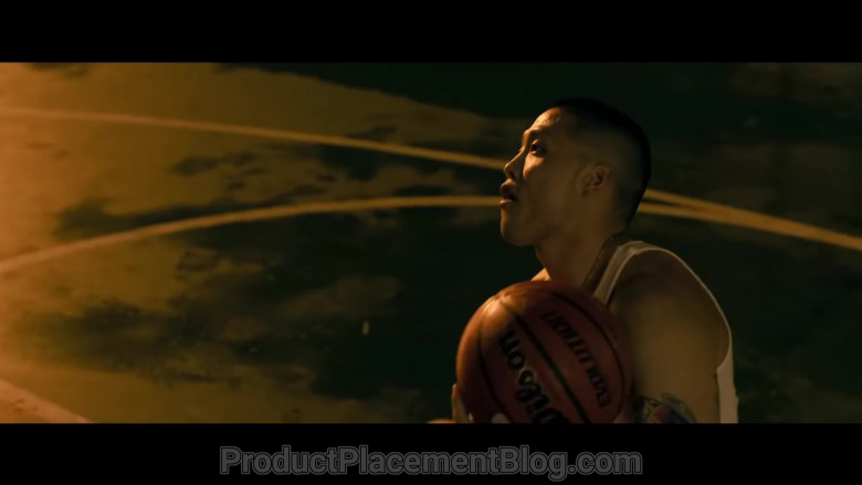 Wilson Basketball Held by Taylor Takahashi as Alfred Chin in Boogie (2021)