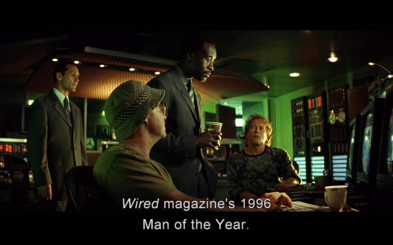Wired Magazine in Swordfish (2001)