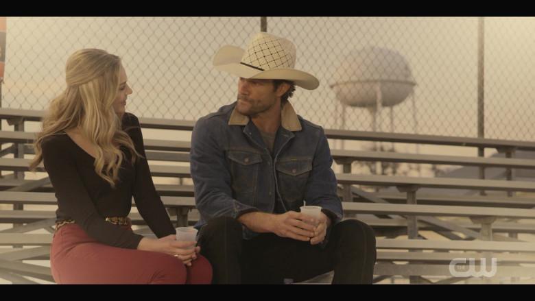 Wrangler Denim Jacket Outfit of Jared Padalecki as Cordell in Walker S01E05 (1)