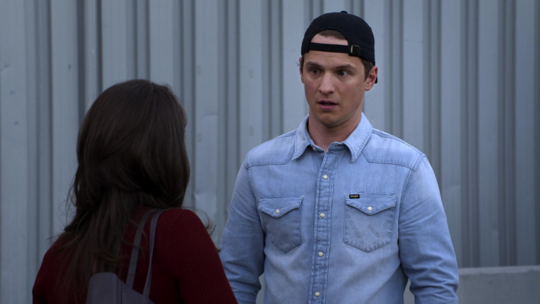 Wrangler Men's Shirt of Freddie Stroma as Jake in The Crew S01E10 (3)