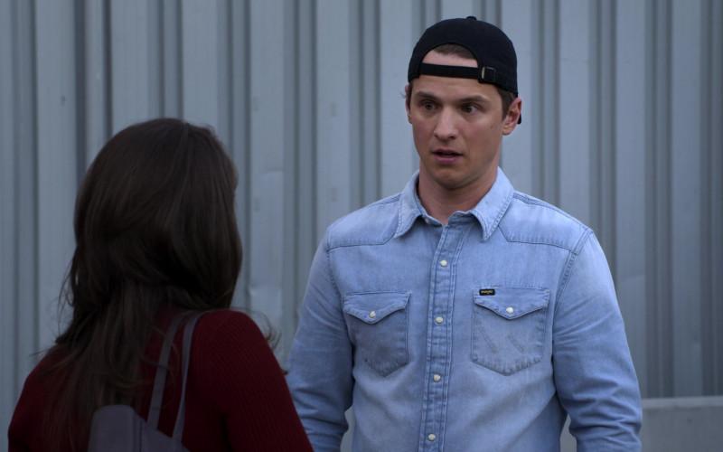 Wrangler Men's Shirt of Freddie Stroma as Jake in The Crew S01E10 (3)