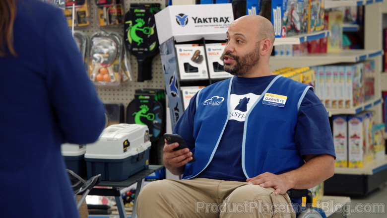 Yaktrax Traction Cleats For Ice and Snow in Superstore S06E09 (2)