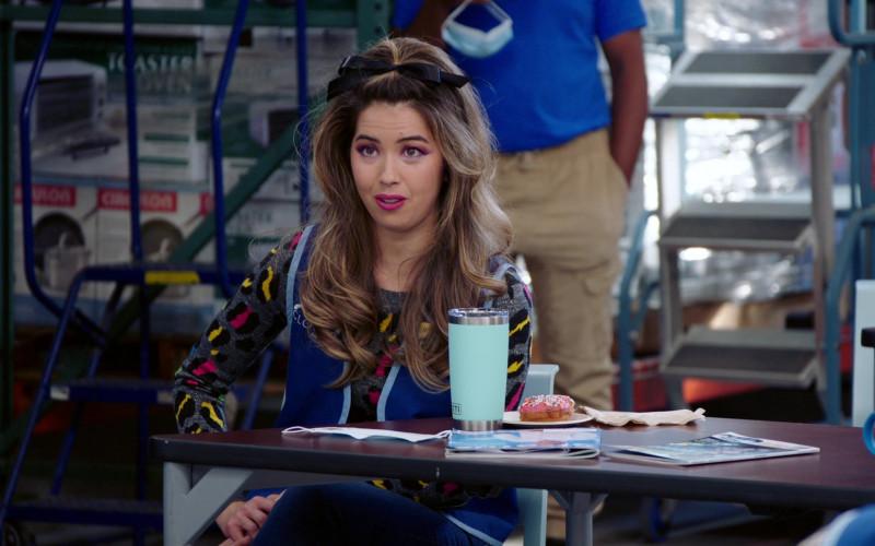 Yeti Rambler Tumbler of Nichole Sakura as Cheyenne in Superstore S06E10 Depositions (2021)
