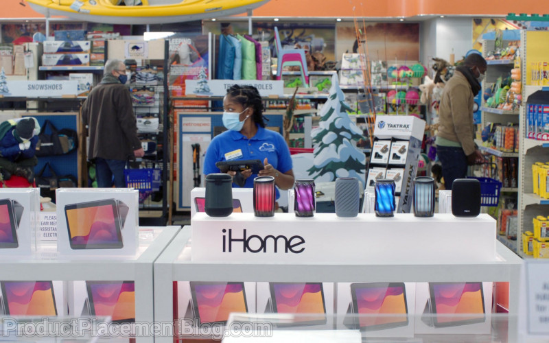 iHome Speakers and Yaktrax in Superstore S06E09 Conspiracy (2021)