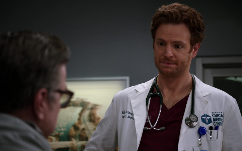 3M Littmann Stethoscope Used by Cast Member Nick Gehlfuss as Dr. Will Halstead in Chicago Med S06E09 TV Show (5)