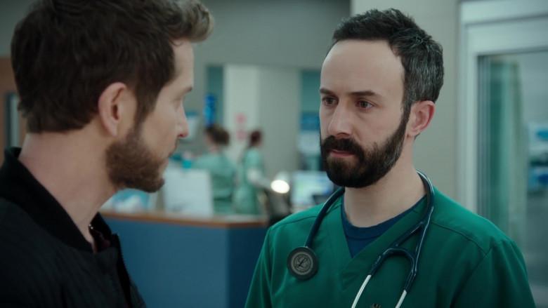 3M Littmann Stethoscope Used by Tasso Feldman as ER Doctor Irving Feldman in The Resident S04E08 TV Show (1)