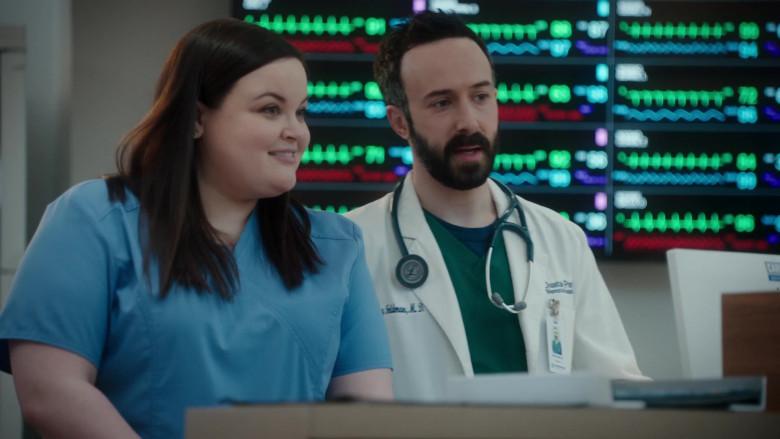 3M Littmann Stethoscope Used by Tasso Feldman as ER Doctor Irving Feldman in The Resident S04E08 TV Show (2)