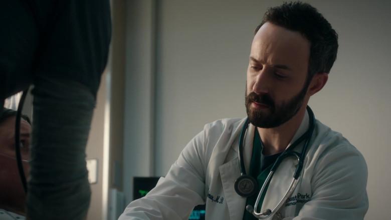 3M Littmann Stethoscope Used by Tasso Feldman as ER Doctor Irving Feldman in The Resident S04E08 TV Show (3)