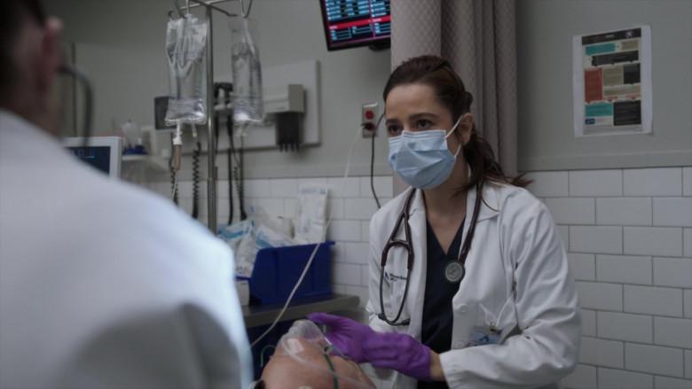 3M Littmann Stethoscope in New Amsterdam S03E05 Blood, Sweat & Tears (2021)
