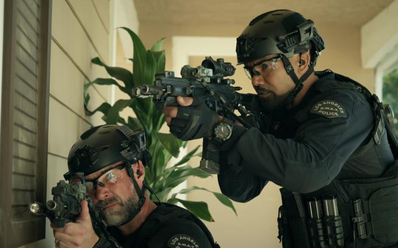 5.11 Tactical Watch Worn by Cast Member Shemar Moore as Sergeant II Daniel 'Hondo' Harrelson Jr. in S.W.A.T. S04E12 U-Turn (2021)