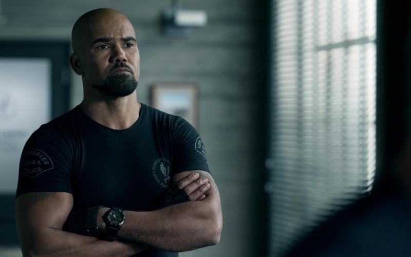 5.11 Tactical Watch of Shemar Moore as Hondo in S.W.A.T. S04E11 Positive Thinking (2021)