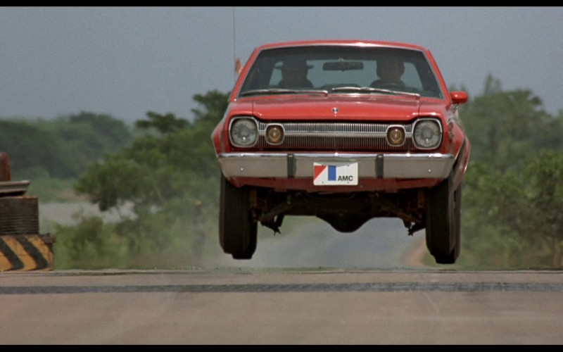 AMC Hornet Red Car in The Man with the Golden Gun