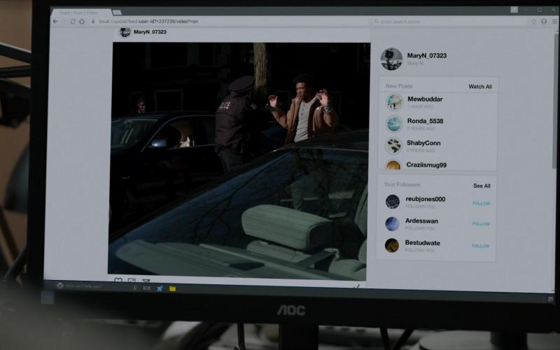 AOC Computer Monitors in Chicago P.D. S08E08 (1)