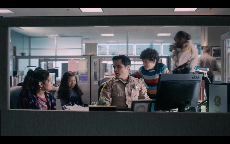 Acer Computer Monitor Used by Arturo Castro as Officer Jones in Yes Day (2021)