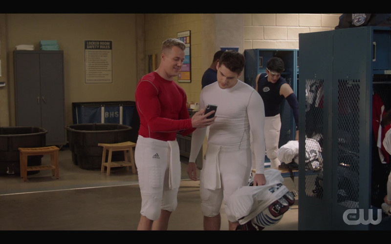 Adidas Football Shorts Worn by Actor in All American S03E08 Canceled (2021)