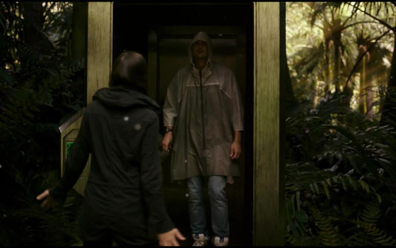 Adidas High-Top Men's Sneakers of Alexander Skarsgård as Dr. Nathan Lind in Godzilla vs. Kong (2021)