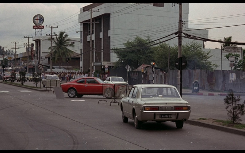 Alfa Romeo sign in The Man with the Golden Gun (1974)