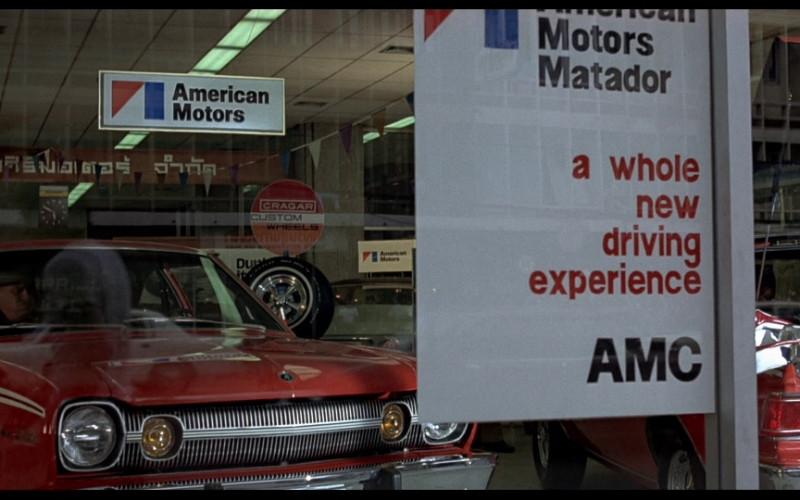 American Motors Corporation (AMC) & Cragar Custom Wheels in The Man with the Golden Gun (1974)