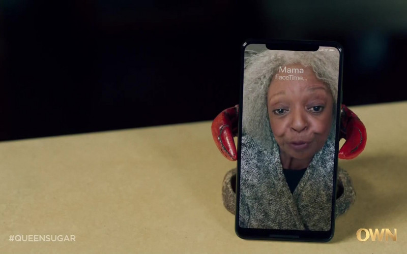 Apple FaceTime App in Queen Sugar S05E03 Late-April 2020 (2021)