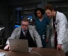 Apple MacBook Laptop Used by Cast Member Oliver Platt as Dr....