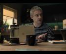 Apple MacBook Laptop of Martin Freeman as Paul Worsley in Br...